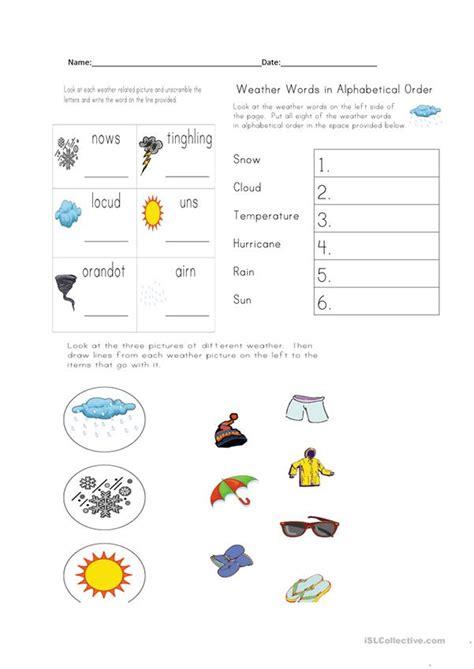 weather clothing worksheet free esl printable worksheets teachers