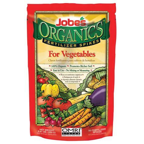 jobes egp06028 organic vegetable fertilizer spikes 50 pack