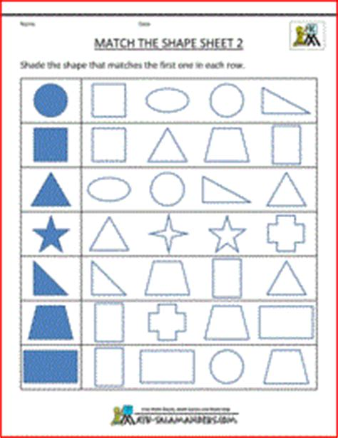 Printable Worksheets Shapes Kindergarten.html