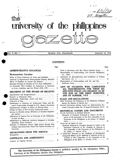 gazette 1974 internal revenue service tax return united