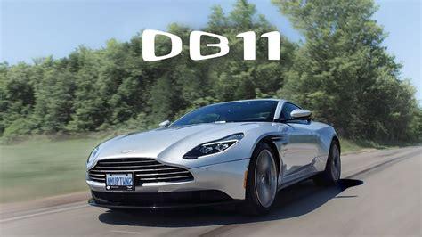 2018 aston martin db11 review youtube
