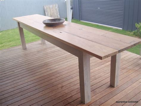 outdoor dining table diy green home pinterest