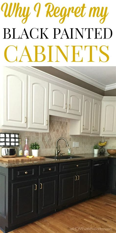 black kitchen cabinets ugly truth home barkers