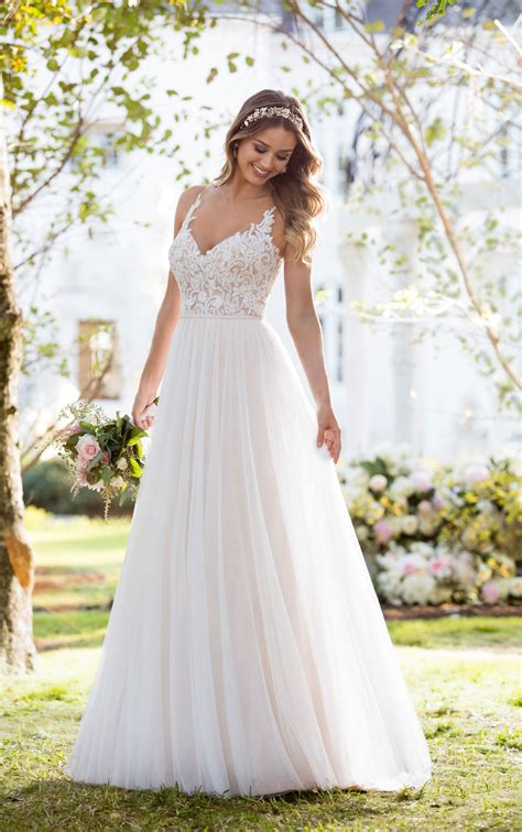 boho wedding dresses soft romantic boho wedding dress