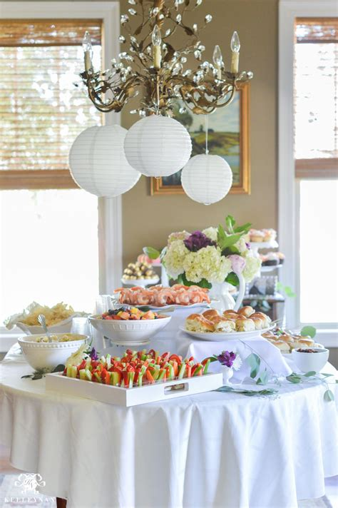 ideas throw indoor garden party bridal shower southern