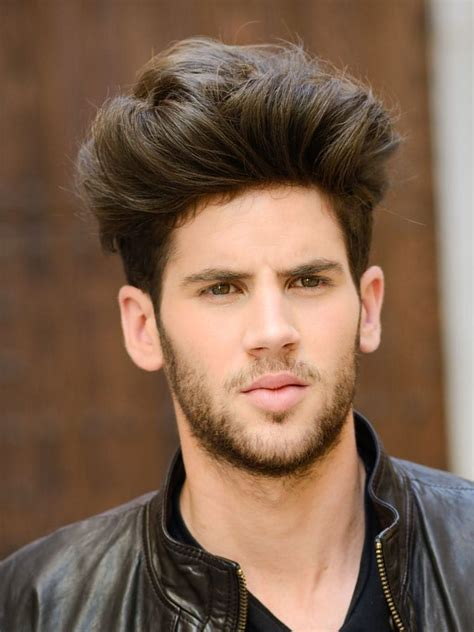 20 haircuts men thick hair high volume