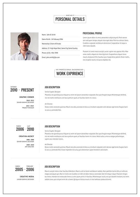 20 intriguing online html resume templates free online