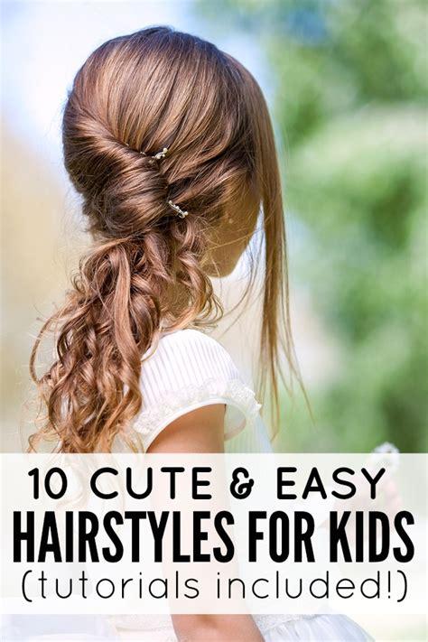 10 cute easy hairstyles kids