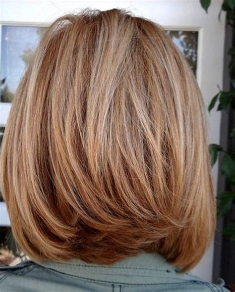 shoulder length layered bob excellent bob hairstyles women