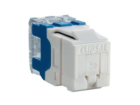 clipsal rj45sma5sh modular socket category 5 rj45 shuttered