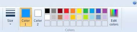 html color code image ms paint