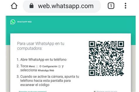whatsapp í puedes abrir tu misma cuenta en