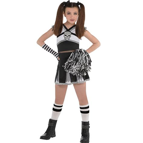 girls ra ra rebel cheerleader costume party city