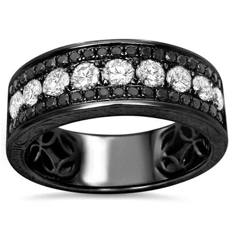 shop 14k black gold men 1 2 5ct