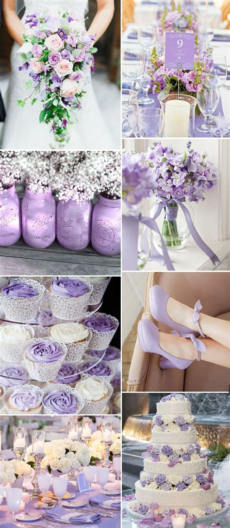 5 fabulous shade purple wedding color ideas