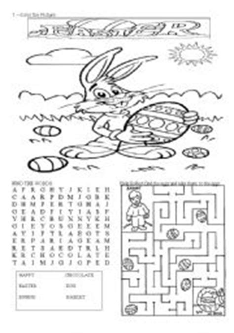 english teaching worksheets easter
