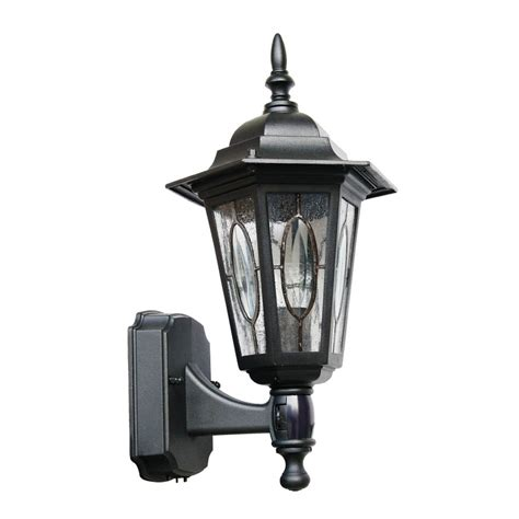 motion sensor outdoor light black country cottage black