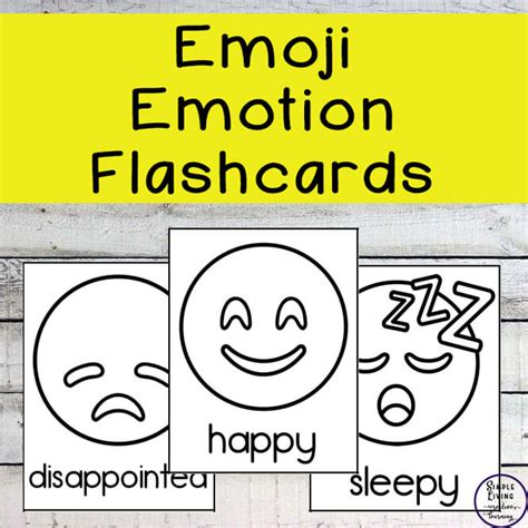 universal emotion flashcards printable obrien website