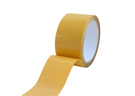 double sided adhesive fiberglass mesh tape yellow release