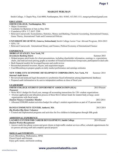 standard cv format phd application 2020 resume exles