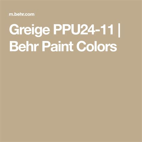 greige ppu24 11 behr paint colors behr paint