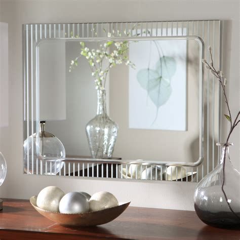 frameless decorative wall mirrors unique decorative wall mirrors
