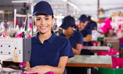 clothing manufacturer overview sectors donut
