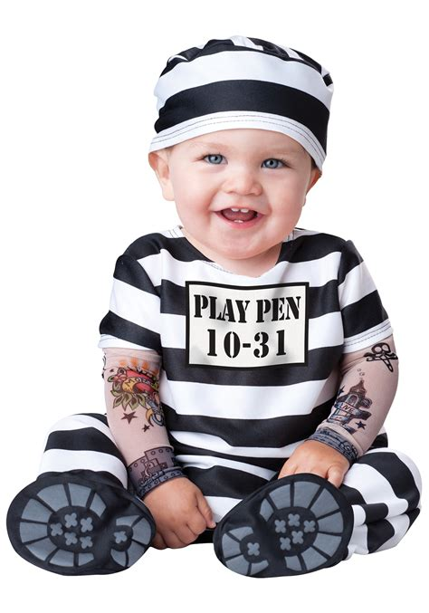 infant time prisoner costume