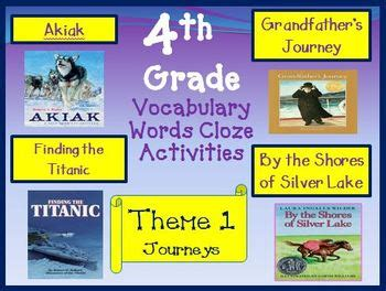 houghton mifflin reading 4th grade theme 1 worksheets