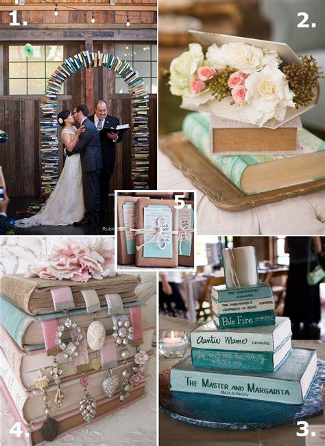 books ideas making elegant literature themed wedd book