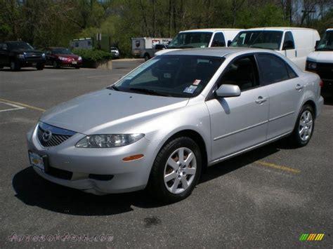 2005 mazda mazda6 sport sedan glacier silver metallic
