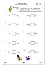 year 3 maths worksheets age 7 8