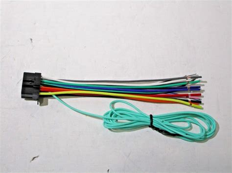 pioneer avh x2700bs wire harness cr2 ebay