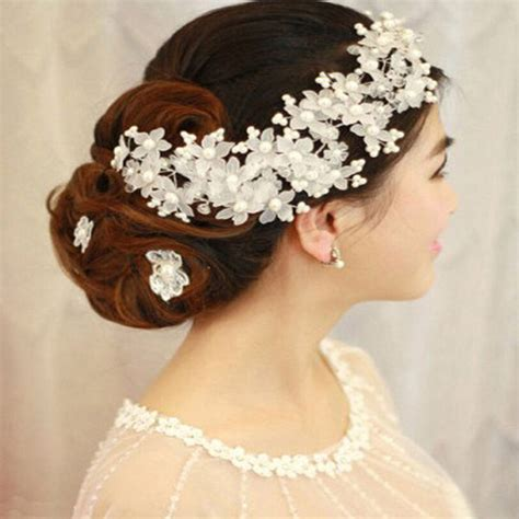 aliexpress buy 2017 arrival hairwear pearl jewelry bridal