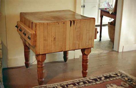 restoration history antique maple butcher blocks