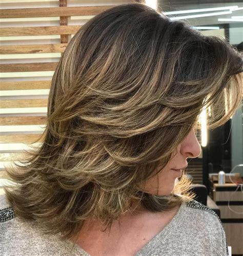 80 sensational medium length haircuts thick hair en