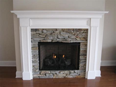 White Wood Fireplace Mantels