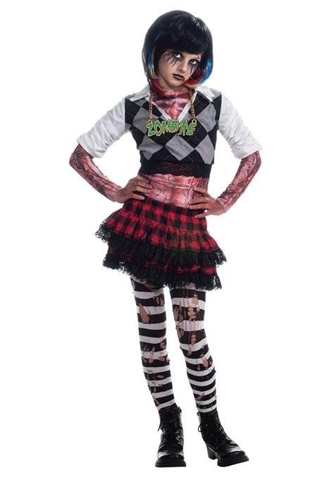 circus costumes year girls girl zombie costume halloween