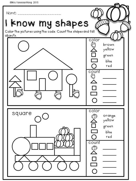 fall activities kindergarten math literacy prep printables kindergarten