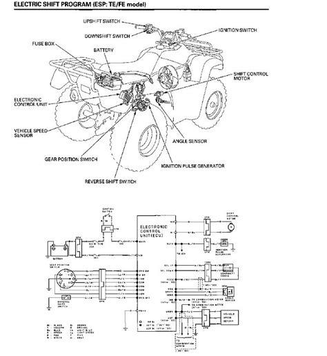 honda rancher 350 es shift replaced angle sensor