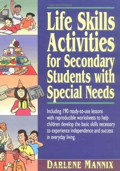 life skills activities worksheets printables lesson plans materials