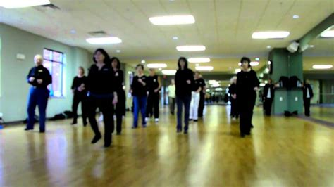 step time line dance instructions youtube