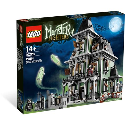 lego monster fighters sets 10228 haunted house