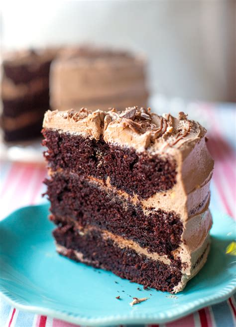 Rich Moist Chocolate Cake Recipe