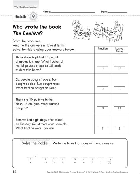kids learn fractions word problems fraction word problems
