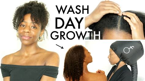 full wash day routine growth 2018 natural hair