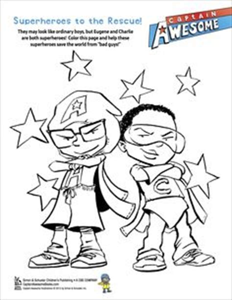 Captain Awesome Coloring Pages.html
