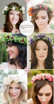 46 romantic wedding hairstyles flower crown diy tutorials