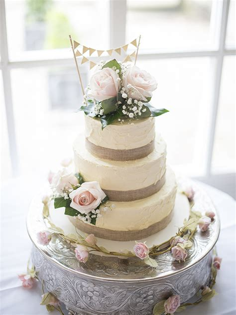 rustic vintage wedding cake cakery leamington spa