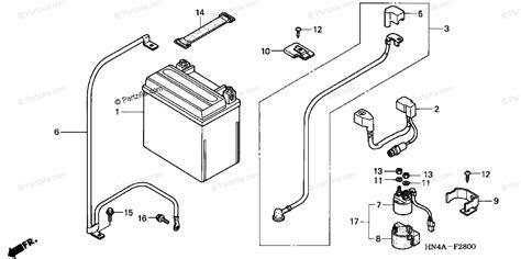 honda atv 2002 oem parts diagram battery partzilla